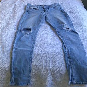 Lucky Brand ORTA premium denim skinny jean.